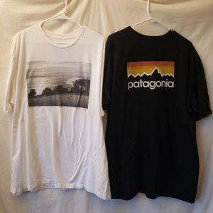 2 Patagonia Tee Shirt